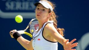Галина Воскобоева поднялась на восемь строчек в рейтинге WTA