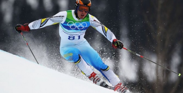Олимпиада в Сочи: Казахстанец Закурдаев стал 33-м в скоростном спуске