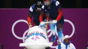 Российские бобслеисты установили рекорд олимпийской трассы