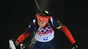 Российская биатлонистка побежит с насморком масс-старт на Олимпиаде