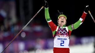 Дарья Домрачева получила звание Героя Беларуси