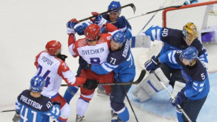 Российские хоккеисты проиграли Финляндии в четвертьфинале Олимпиады