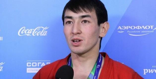 Казахстанский самбист победил на этапе Кубка мира в Беларуси