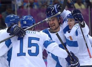 """Финские хоккеисты разгромили США в матче за """"бронзу"""" Олимпиады в Сочи"""