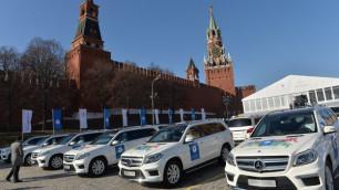 Всем российским призерам Олимпиады в Сочи вручили ключи от автомобилей