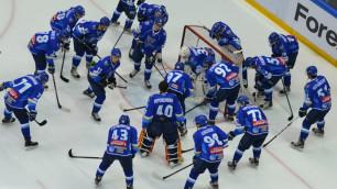 """""""Барыс"""" пополнился тремя игроками """"Снежных Барсов"""" перед плей-офф"""