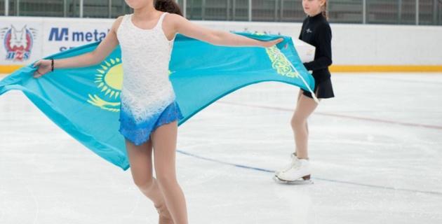 Фигуристка Элизабет Турсынбаева выиграла третий международный турнир подряд