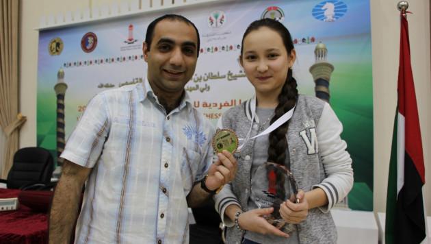 Жансая Абдумалик заняла третье место на чемпионате Азии
