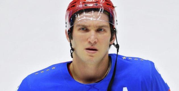 Овечкин провел тренировку в сборной России