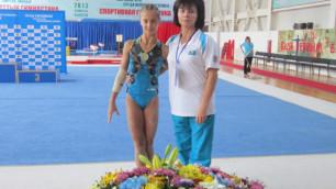Карагандинка впервые в истории Казахстана стала призеркой Кубка мира по спортивной гимнастике