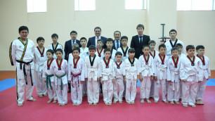 В Казахстане откроются бесплатные школы по таэквондо