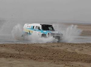 Экипаж Mobilex Racing Team преодолел третий этап ралли-рейда в Катаре