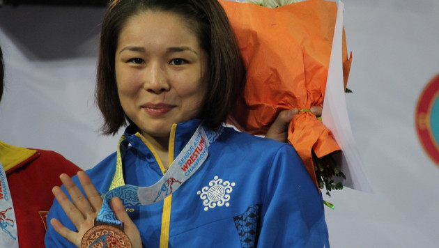 На чемпионате Азии боролась после декретного отпуска - Айым Абдильдина