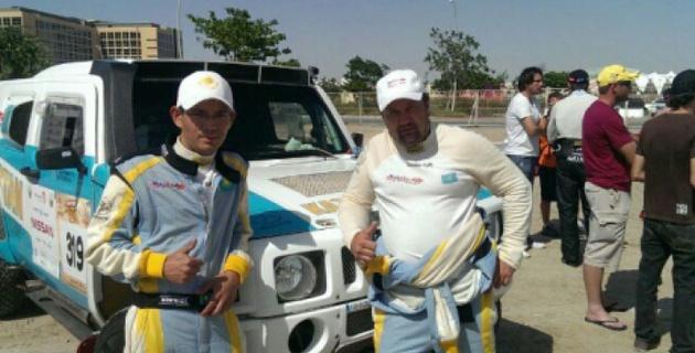 Экипаж Mobilex Racing Team вошел в десятку сильнейших по итогам гонки в Катаре