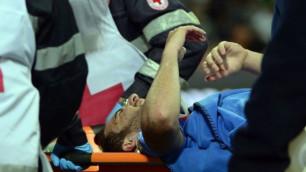 Игуаину удалось избежать серьезной травмы