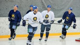 Сборная Казахстана по хоккею прибыла во Францию
