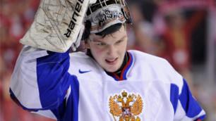 19-летний хоккеист будет защищать ворота сборной России в матче против Чехии
