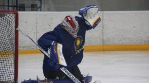 Казахстанские хоккеисты проиграли Франции в первом товарищеском матче