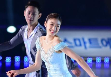 Денис Тен принял участие в прощальном ледовом шоу Ю На Ким » Vesti.kz