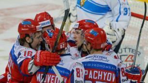 Журналистов попросили не задавать лишних вопросов хоккеистам сборной России