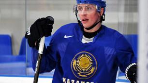 Сборная Казахстана потеряла двух хоккеистов перед чемпионатом мира