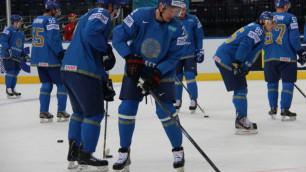 Букмекеры определились с победителем матча ЧМ по хоккею Казахстан - Беларусь