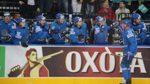 Гаврилин забросил 60-ю шайбу сборной Казахстана в ТОП-дивизионе