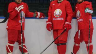 Беларусь в большинстве сравняла счет в матче с Казахстаном