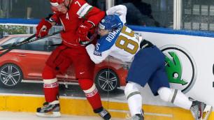 Казахстан проиграл Беларуси на чемпионате мира в Минске