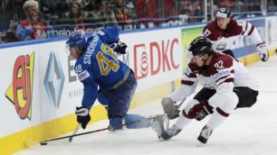 Матч Казахстан - Латвия стал самым результативным на ЧМ-2014 по хоккею