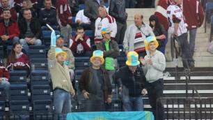 Матч Казахстан - Латвия собрал наименьшую аудиторию на ЧМ по хоккею
