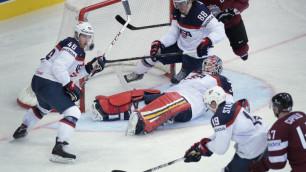 Сборная США проиграла перед матчем с Казахстаном на ЧМ по хоккею