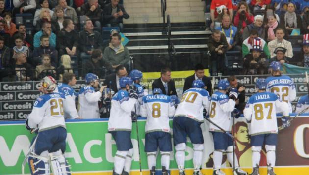 Сборная Казахстана в овертайме уступила США на ЧМ по хоккею