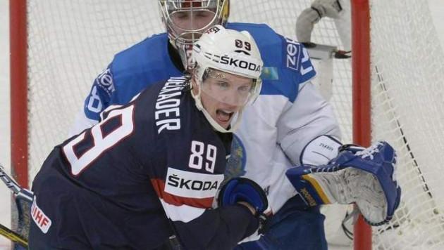 Капитан сборной США дисквалифицирован за удар Пушкарева на ЧМ по хоккею