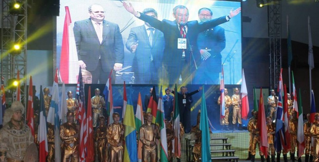 В Алматы прошло открытие этапа Кубка мира по стендовой стрельбе