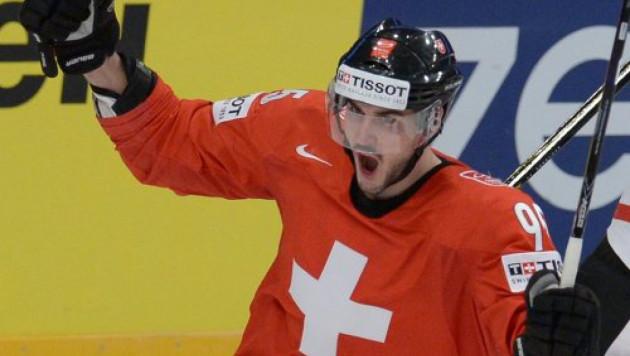 Мы показали пока лучший наш хоккей на ЧМ - форвард сборной Швейцарии о матче с Казахстаном