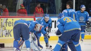 Сборная Казахстана завершила ЧМ по хоккею поражением от Финляндии