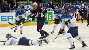 Матч Казахстан - США удержал антирекорд по посещаемости на ЧМ по хоккею в Минске