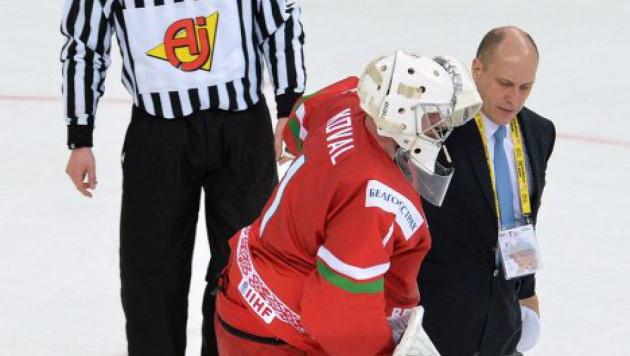 Сборная Беларуси потеряла вратаря перед плей-офф ЧМ по хоккею