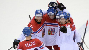 Сборная Чехии стала первым полуфиналистом ЧМ по хоккею