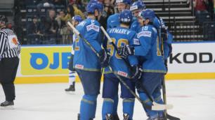 Казахстанские хоккеисты завершили ЧМ на последнем месте в шутливом рейтинге ИИХФ