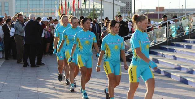 В Караганде стартовал шоссейный этап чемпионата Азии по велоспорту