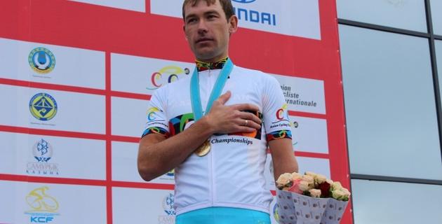 Велогонщик Груздев принес Казахстану шестую золотую медаль чемпионата Азии