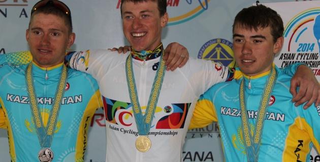 В гонке победили сильнейшие - казахстанский велогонщик Григорий Штейн