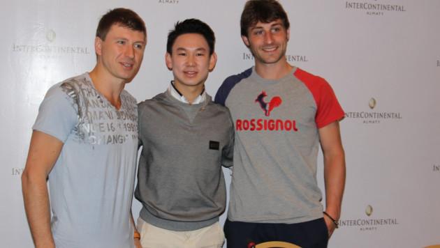 Алексей Ягудин дал мастер-класс казахстанским фигуристам