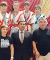 В Талдыкоргане завершился первый чемпионат Казахстана по казакша курес среди женщин