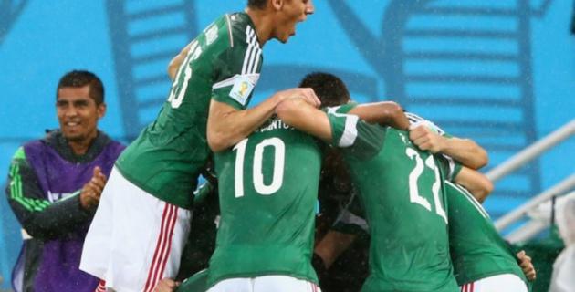 Мексика обыграла Камерун на чемпионате мира по футболу в Бразилии