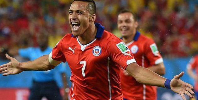 Чили одержала победу над Австралией на ЧМ-2014