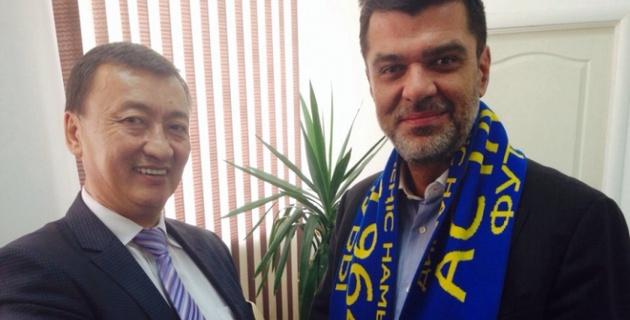 Клуб первой лиги Казахстана будет сотрудничать с греками
