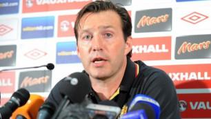Мы хотим победить - тренер Бельгии о матче с Алжиром